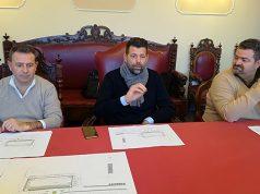 La presentazione dei nuovi parcheggi in via Cellini a Senigallia