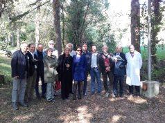 Presentazione alla stampa del service del Lions Club Jesi di riqualificazione del parco dell'Ospedale Murri