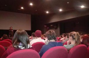 Un momento della rassegna cinematografica Niente da capire a Senigallia