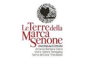 """Il logo dell'Unione dei comuni """"Le terre della marca senone"""""""