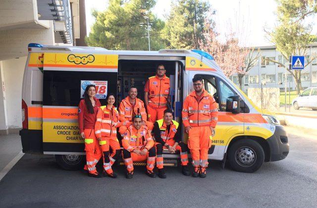 I volontari della Croce Gialla di Chiaravalle