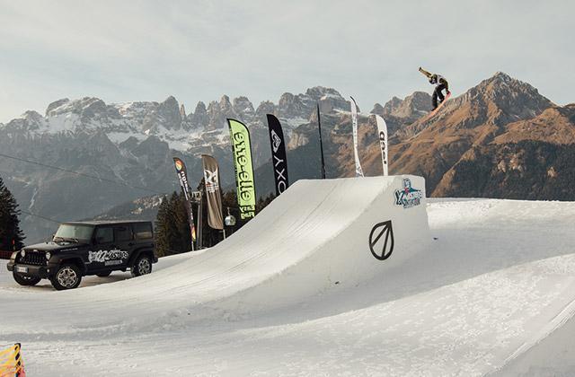 Una delle tappe del winter tour per gli Xmasters, l'evento di action sport