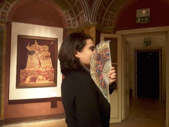 Seduzione a colpi di ventaglio, il San Valentino a Palazzo Pianetti