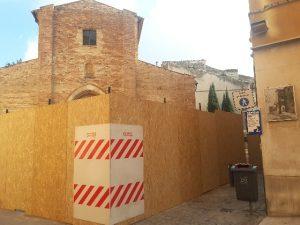 Lavori Piazza Pergolesi
