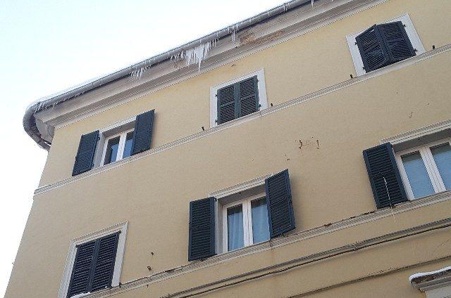 Coni di ghiaccio in Corso Matteotti