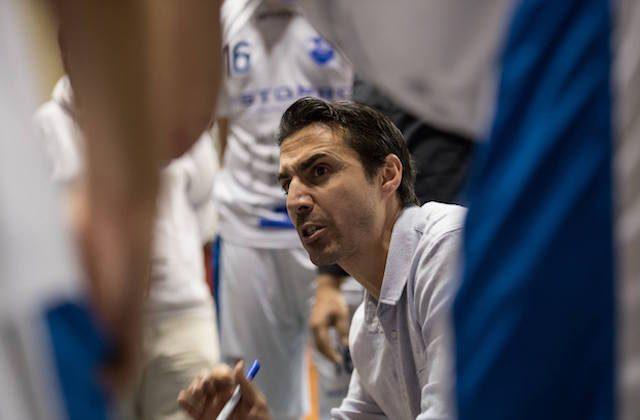 Daniele Aniello, allenatore della Ristopro Fabriano (foto di Marco Teatini)