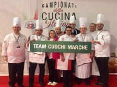 Il team che ha conquistato la medaglia d'argento a Rimini