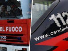 Mobilitati Carabinieri e Vigili del Fuoco