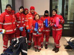 I volontari in stazione