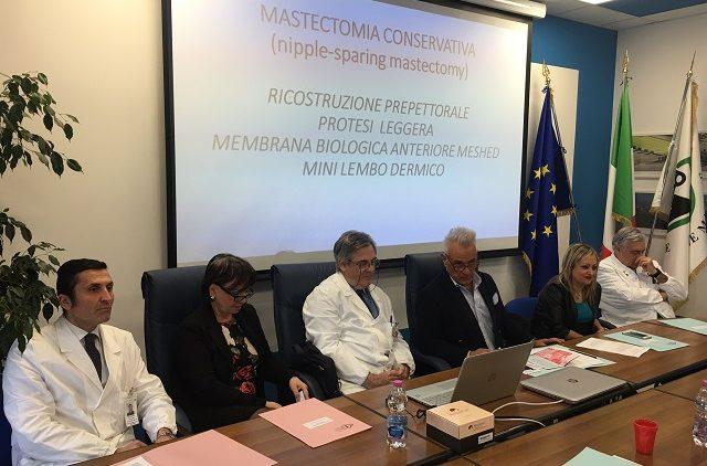 La presentazione dell'innovativo intervento chirurgico questa mattina (12 febbraio) agli Ospedali Riuniti di Ancona