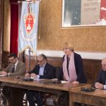 Il sindaco di Filottrano, Lauretta Giulioni, presneta l'evento ItaliaInnova