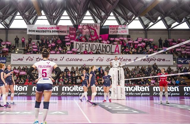 La Lardini trova una vittoria fondamentale con Bergamo