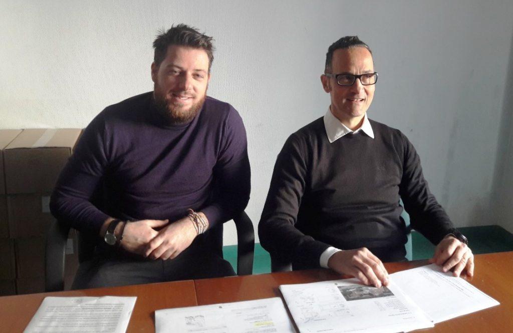 Da sin. i consiglieri Francesco Rubini (Sel-Abc) e Stefano Tombolini (60100)