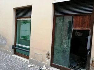 Bancomat Staffolo esploso