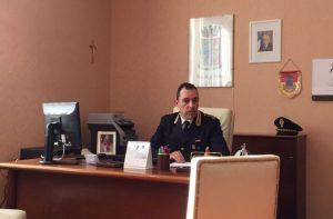 Il vicequestore del commissariato di Polizia di Osimo Giuseppe Todaro