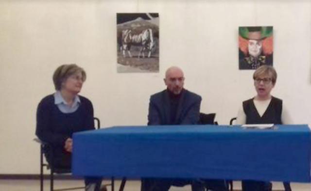 La presentazione dell'iniziativa a Chiaravalle: da sinistra: Zepparoni, Maiolatesi e Amicucci