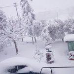 Neve e maltempo a Barbara