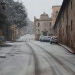 Neve e maltempo a Castelleone di Suasa