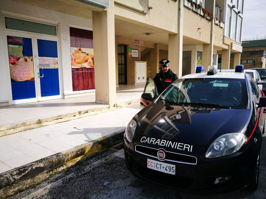 I carabinieri di Montemarciano
