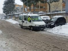 Neve a Falconara (Foto: Protezione Civile Falconara)