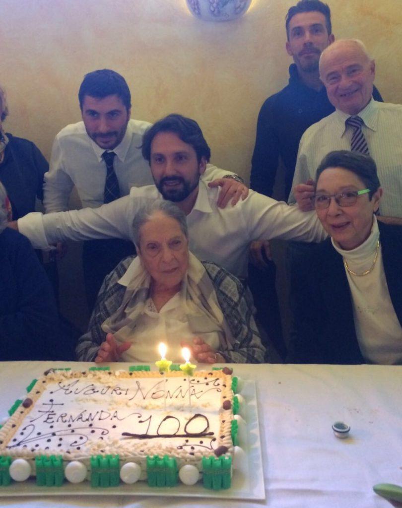 Fernanda Paci compie 100 anni