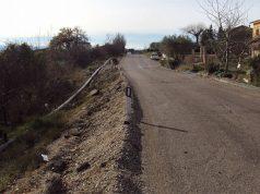 I lavori sulla frana nel Comune di Corinaldo lungo la sp 14 Senigallia-Albacina