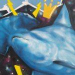 Uno dei graffiti di Michele Droghini, in arte Geos, a Senigallia