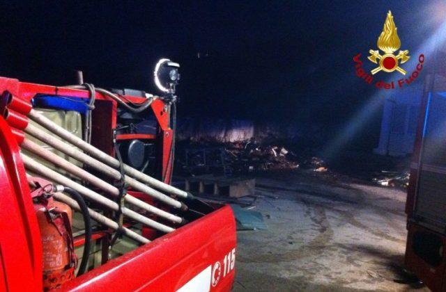 Incendio all'ex Edilcost, quattro indagati