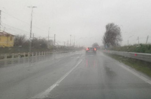 Maltempo e pioggia a Senigallia