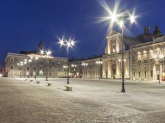 Piazza Garibaldi a Senigallia dopo l'intervento di restyling