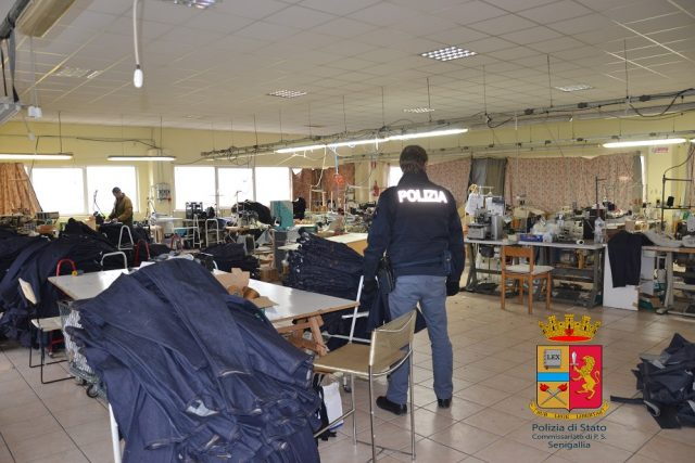 Ufficio Lavoro Senigallia : Senigallia sequestrato un laboratorio cinese centropagina