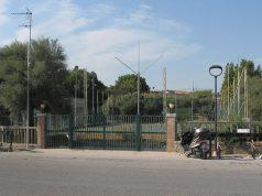 I campi da tennis al Ponterosso, sul lungomare di Senigallia
