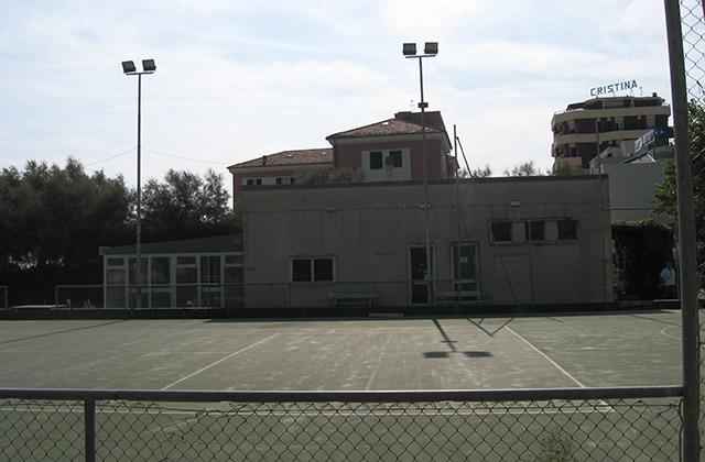 I campi da tennis al Ponterosso, a Senigallia