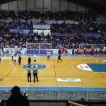 Il pubblico fabrianese domenica in occasione del match contro la Goldengas Senigallia