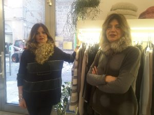 Gianna e Patrizia della boutique NoiDue