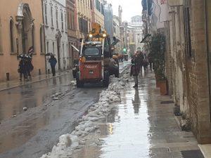 gombero neve Corso Matteotti