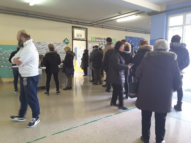 Voto al seggio