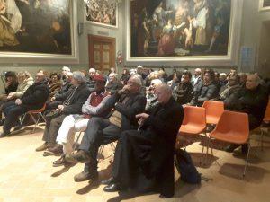 Il pubblico alla Sala Valeri del Museo Diocesano