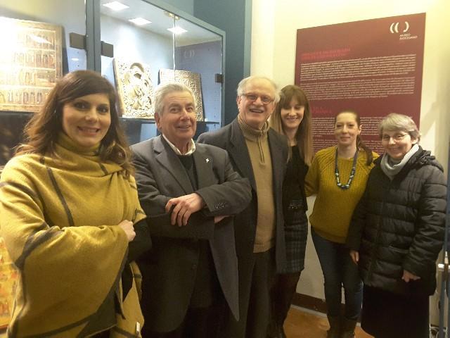 Giulia Giulianelli, don Vittorio Magnanelli, Randolfo Frattesi, Carla Marinelli, Sara Tassi, suor Patrizia Pasquini