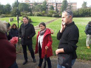 Il regista Giorgio Massera e Oriana Bolletta