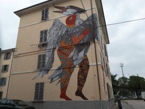 """Murale """"Speci Migranti"""""""