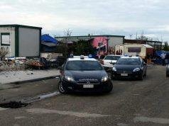I Carabinieri al campo rom di Jesi