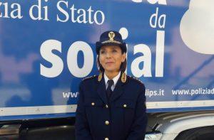 Primo dirigente della Polizia postale Cinzia Grucci