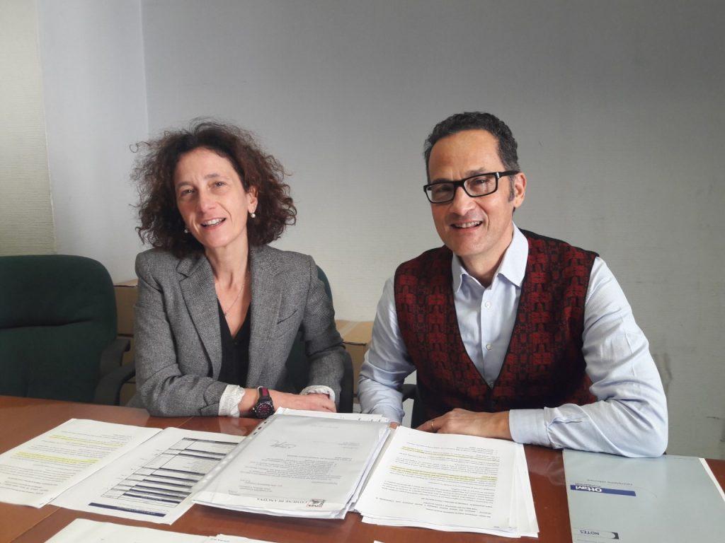 i consiglieri Maria Ausilia Gambacorta (M5S) e Stefano Tombolini (60100)