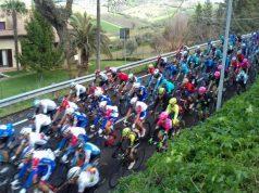 I ciclisti della Tirreno-Adriatica