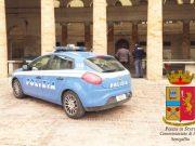 Una volante al foro Annonario di Senigallia