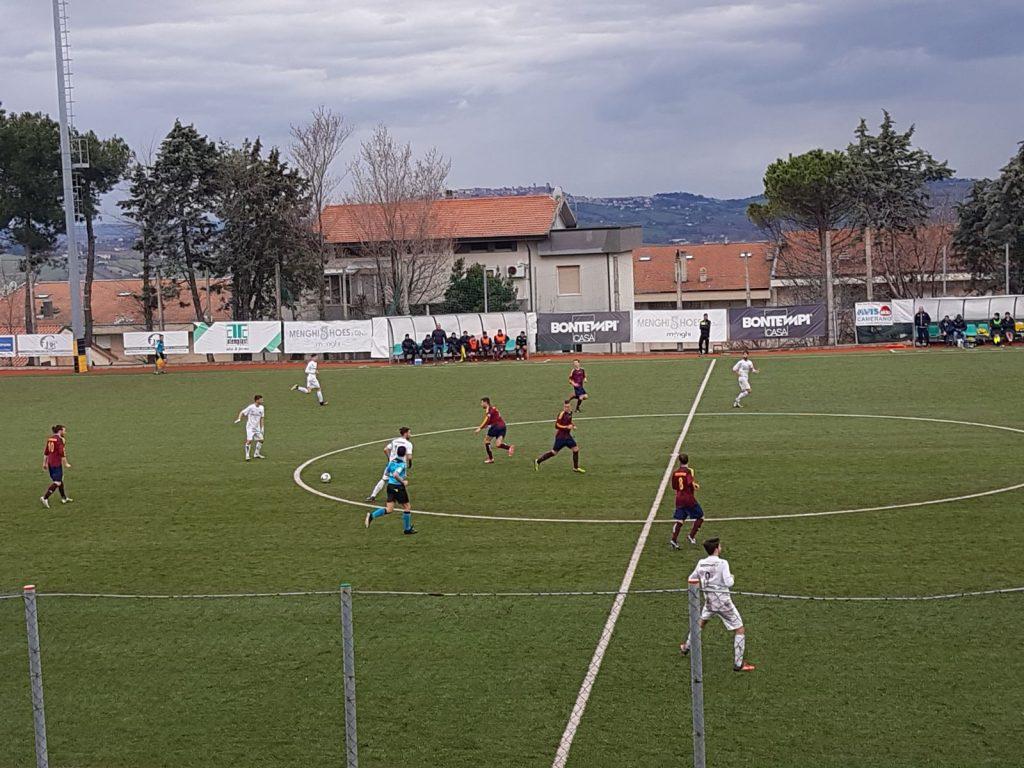 Il match Camerano-Massa Martana