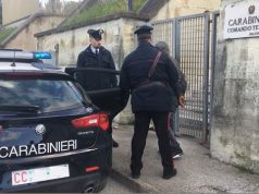 Arresto dello stalker tunisino (Foto: Carabinieri Tenenza di Falconara)