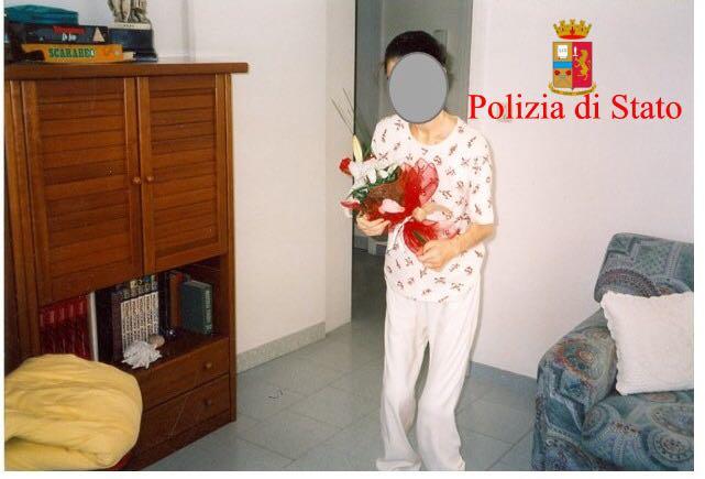 Una delle presunte vittime della psico setta