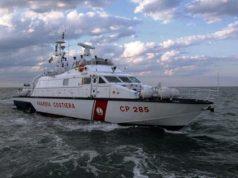 La Motovedetta CP 285 della Capitaneria di Porto di Ancona